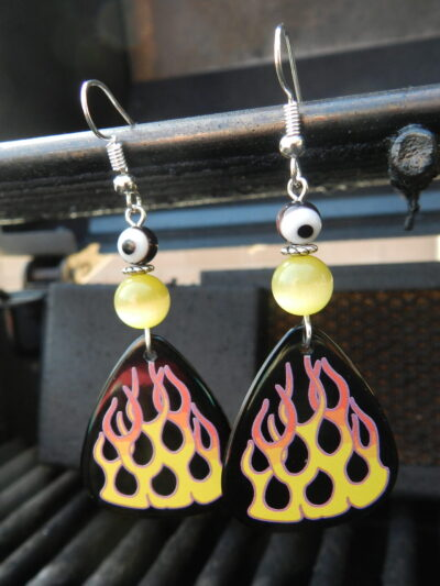 flame-earrings