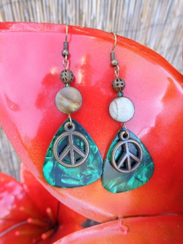 green-peace-symbol-guitar-pick-earrings-2