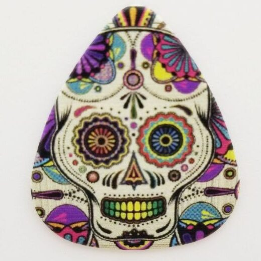 sugar_skull-guitar-pick